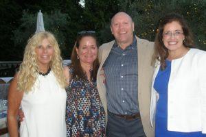 Randi Grant, Caroline Hackman, Dr. Avi Weissman, Sari Arshadnia