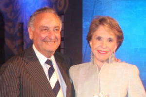 Joan and Sandy Weill