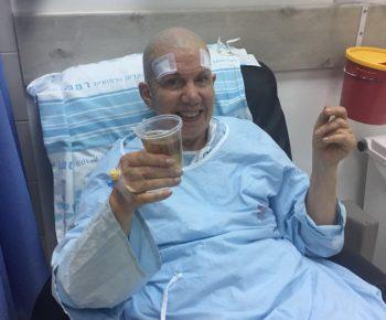 L'chayim - Rabbi Yocheved Mintz after procedure (1)