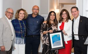 Dalia Melamed, Ramin and Mersedeh Mesrianai, Sari Arshadnia