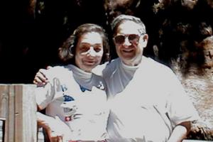"""Bonnie and Dr. Ernest Beutler z""""l"""